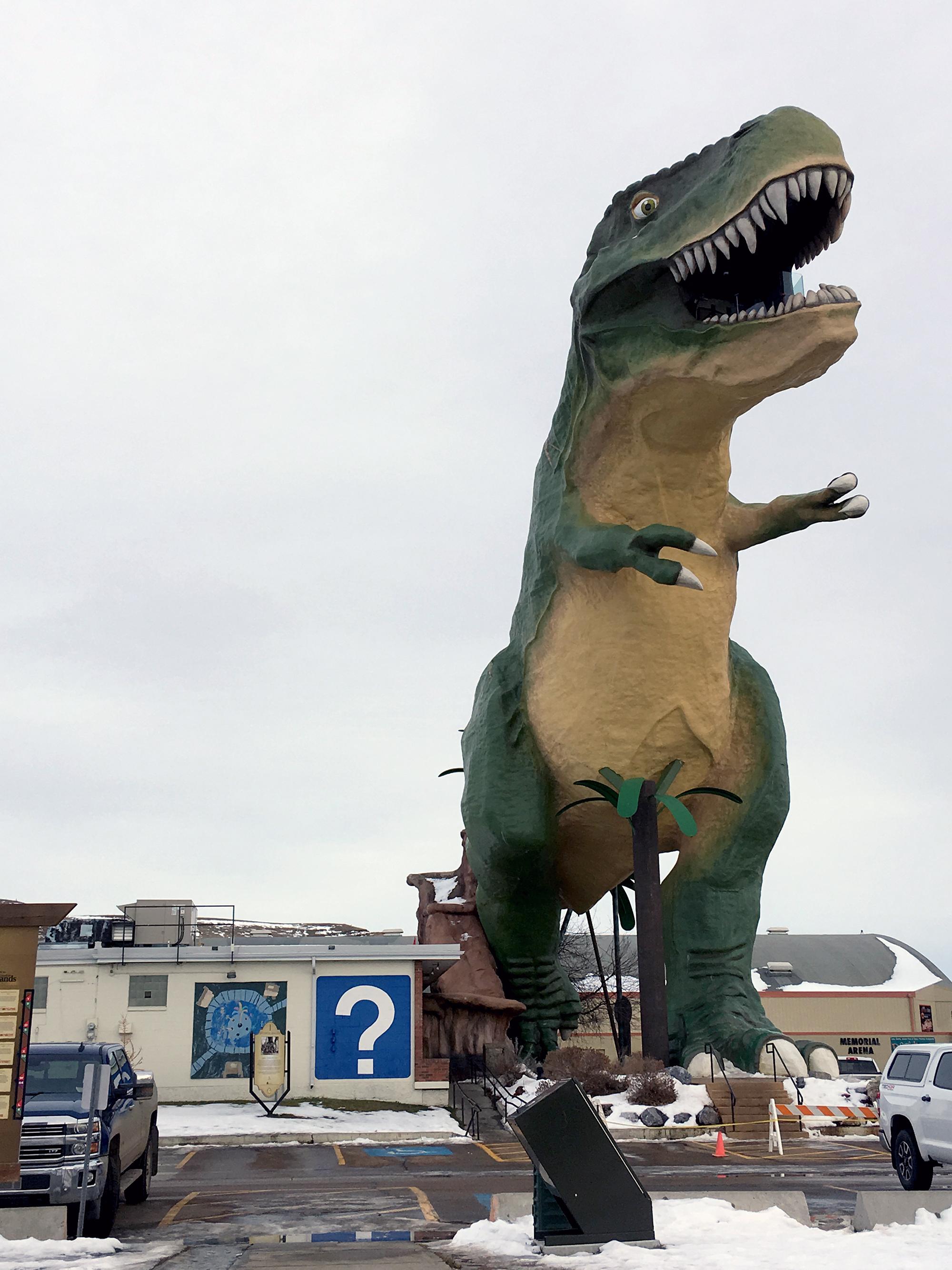 Generic Van Life - Drumheller - Worlds Largest Dinosaur