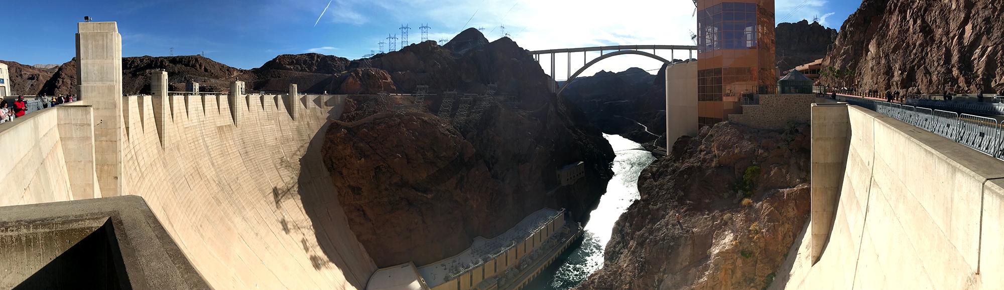 Generic Van Life - Hoover Dam Pano