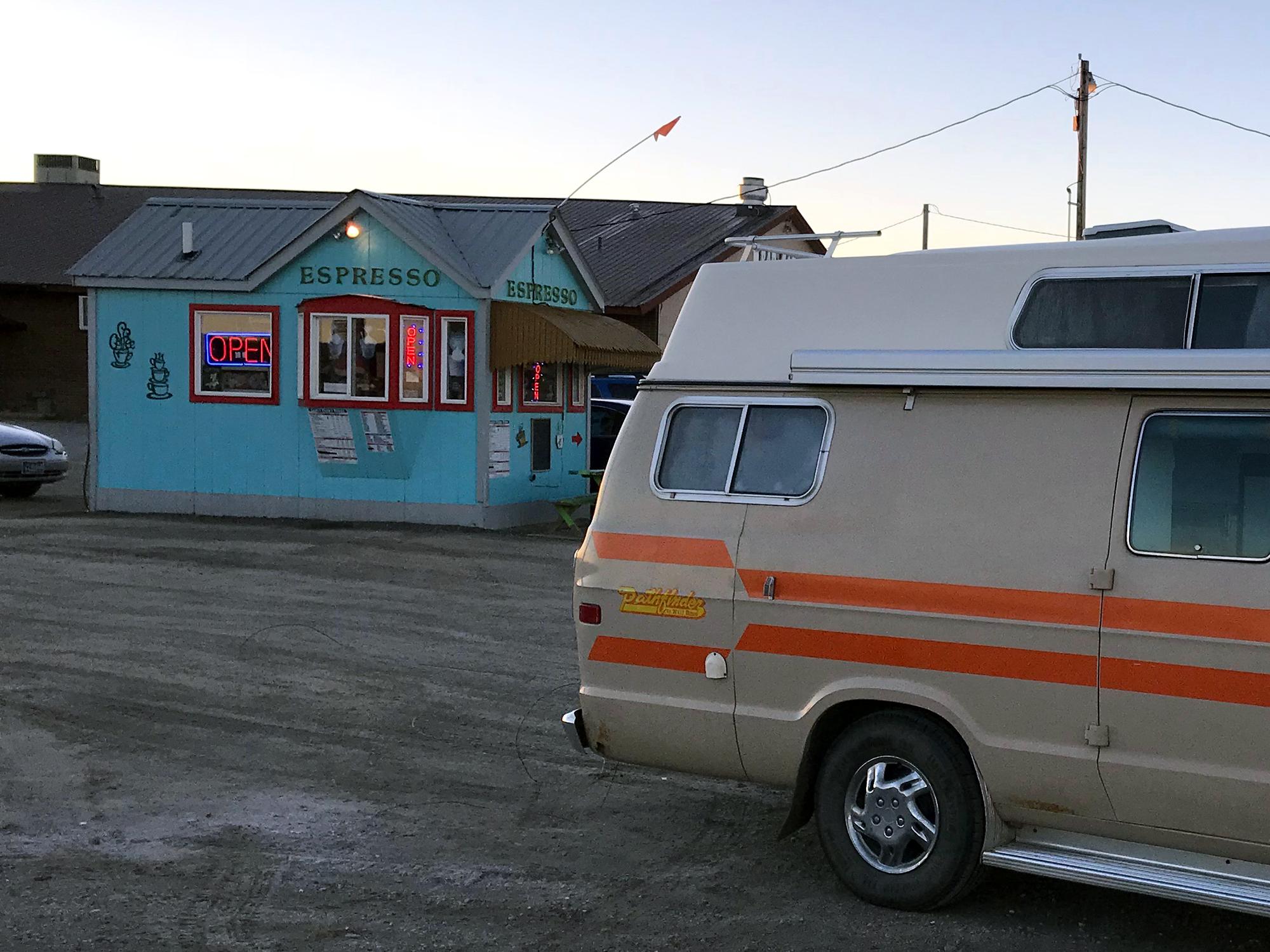 Generic Van Life - Shelby Espresso Bar