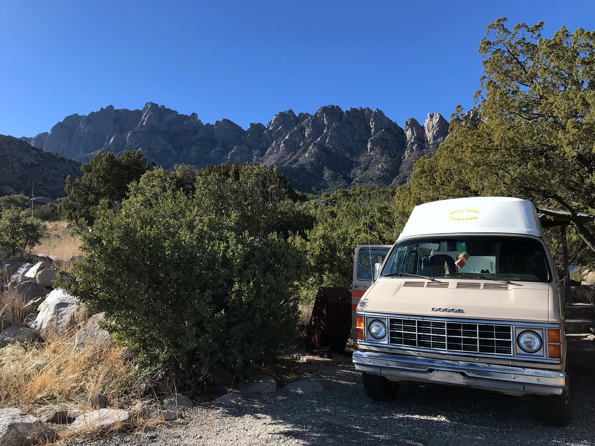 Generic Van Life - New Mexico Organ Mountains