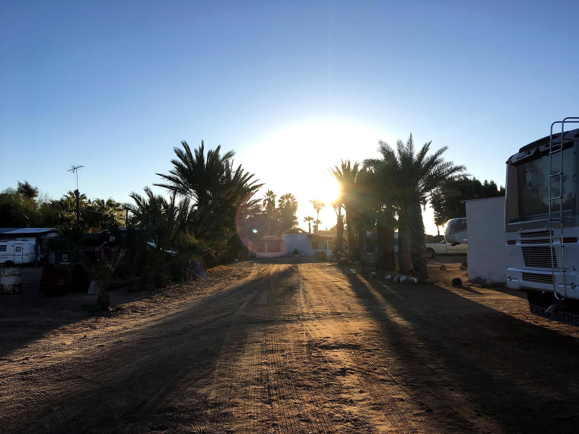 Generic Van Life - Puerto Penasco Bahia Kino Morning