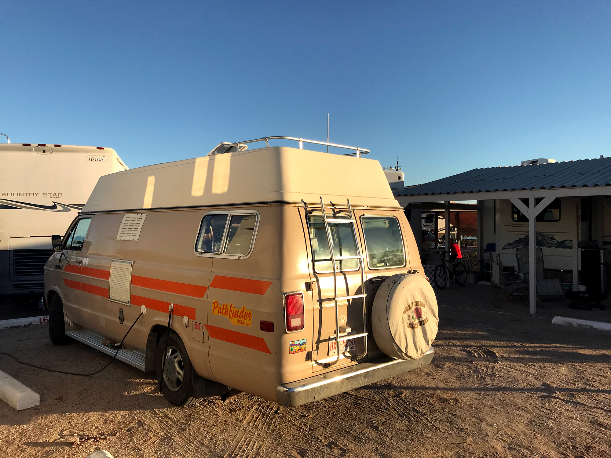 Generic Van Life - Puerto Penasco Playa Bonita RV Park