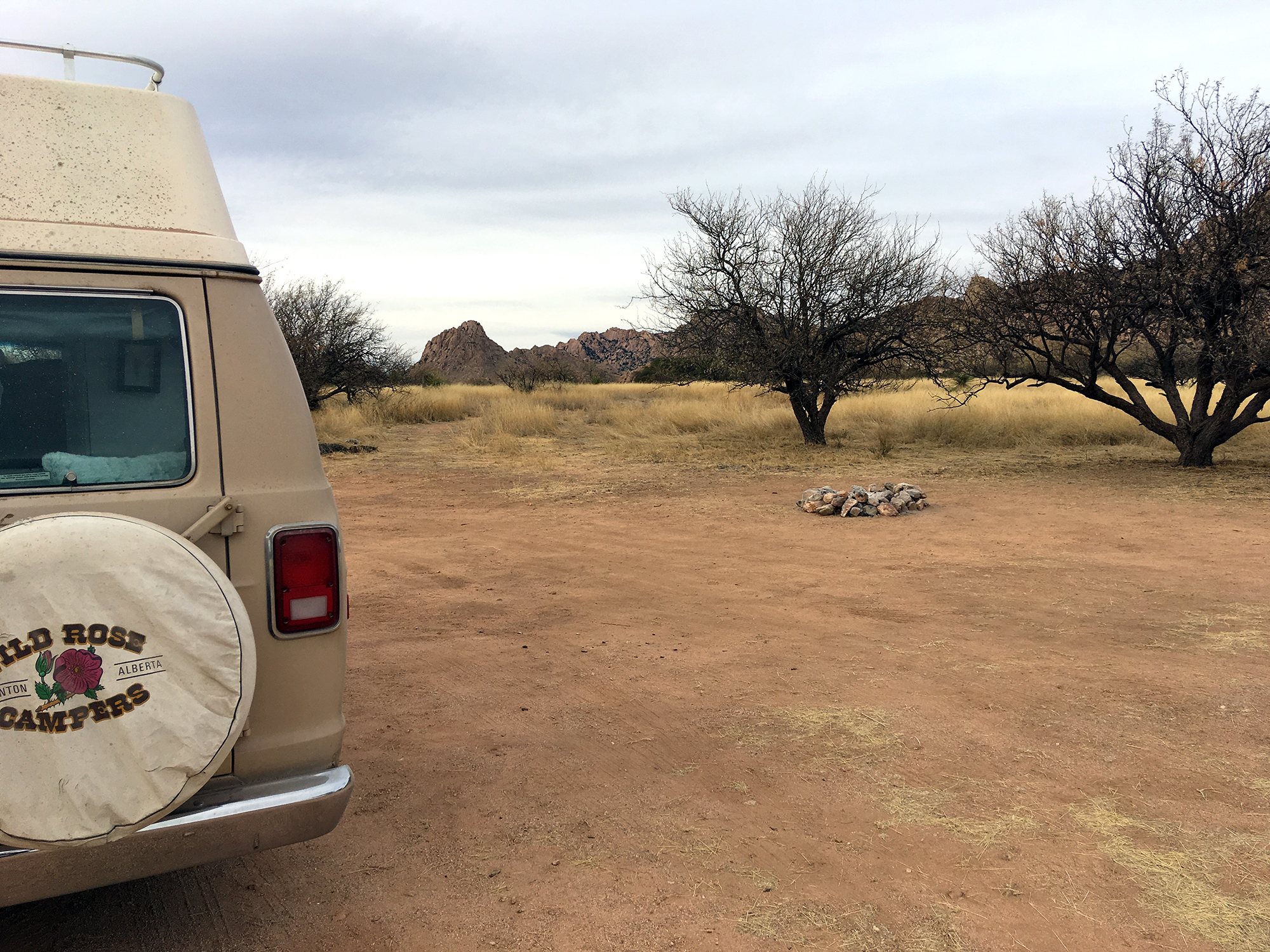 Generic Van Life - Tucson Dragoon Mountains