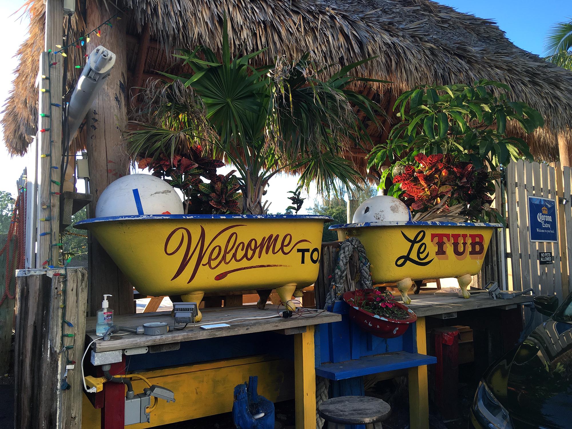 Generic Van Life - Key West Le Tub Welcome