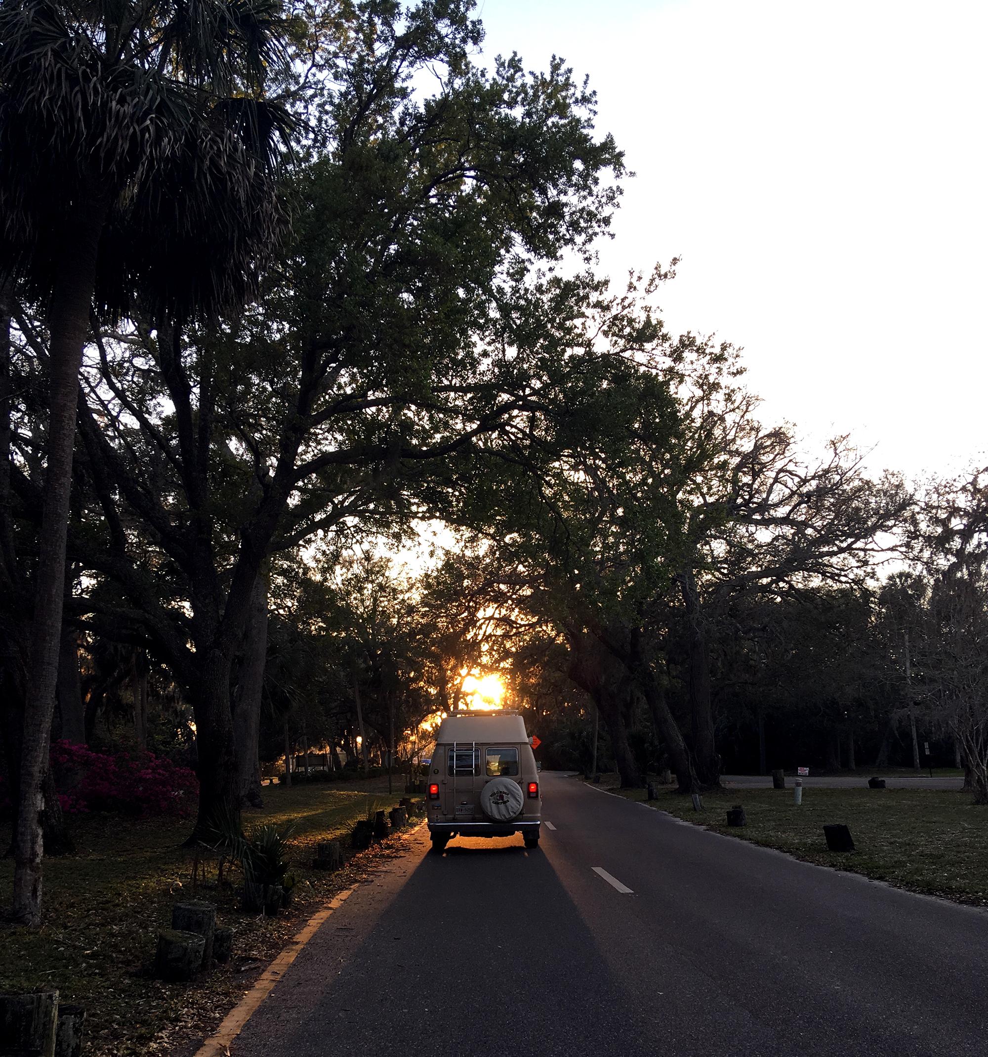 Generic Van Life - Florida Hanna Park