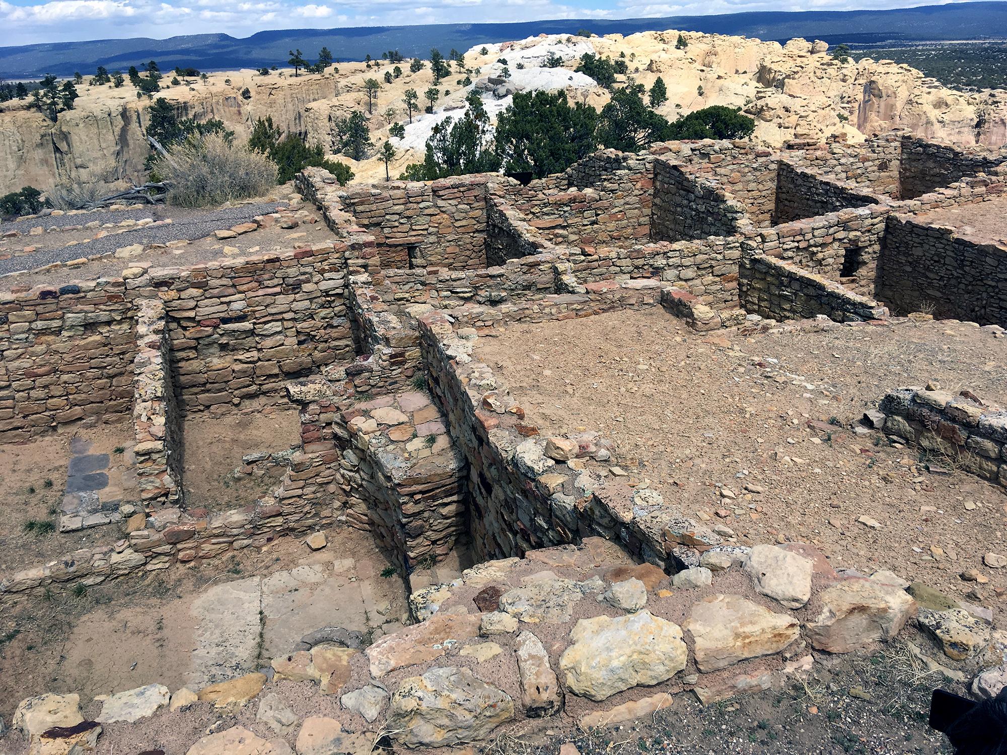 Generic Van Life - Albuquerque El Morro Pueblo