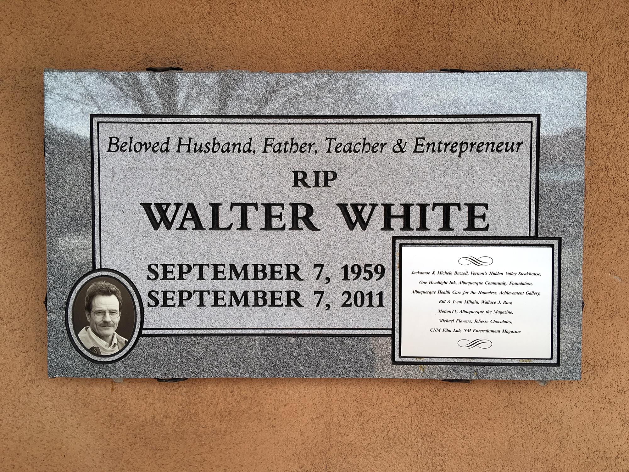Generic Van Life - Albuquerque Walter White Headstone