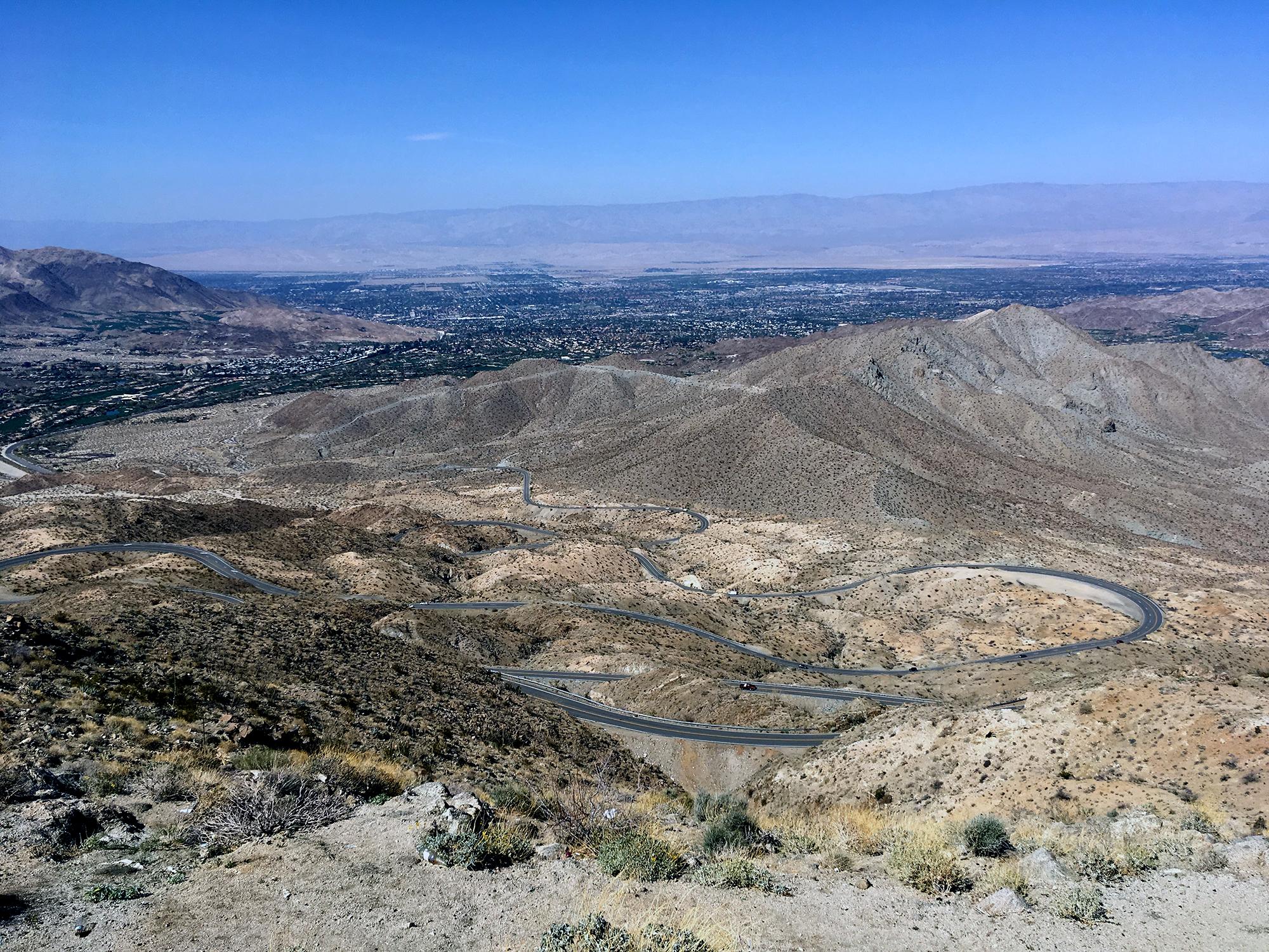 Generic Van Life - Southern California Winding Road