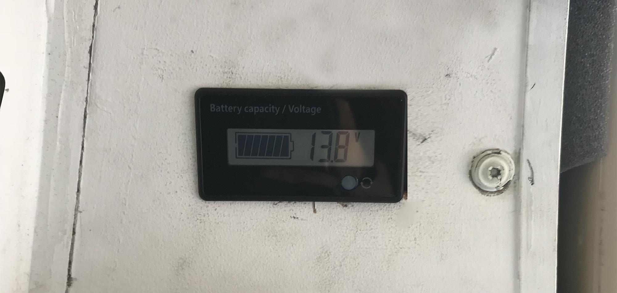 Generic Van Life - Solar Panel Setup - Voltage Meter