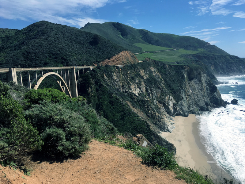 Generic Van Life - Central California Bixby Bridge