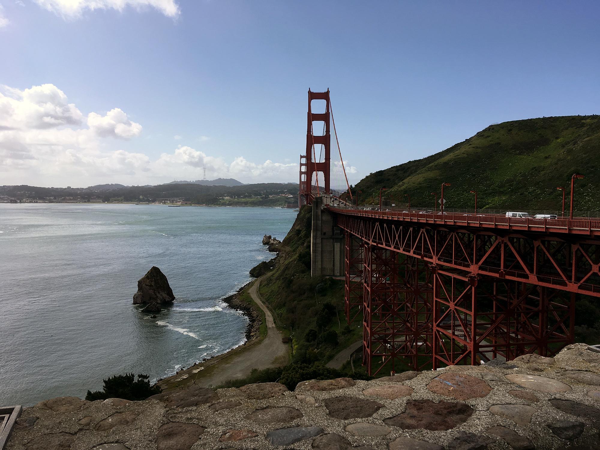 Generic Van Life - Northern California Golden Gate Day
