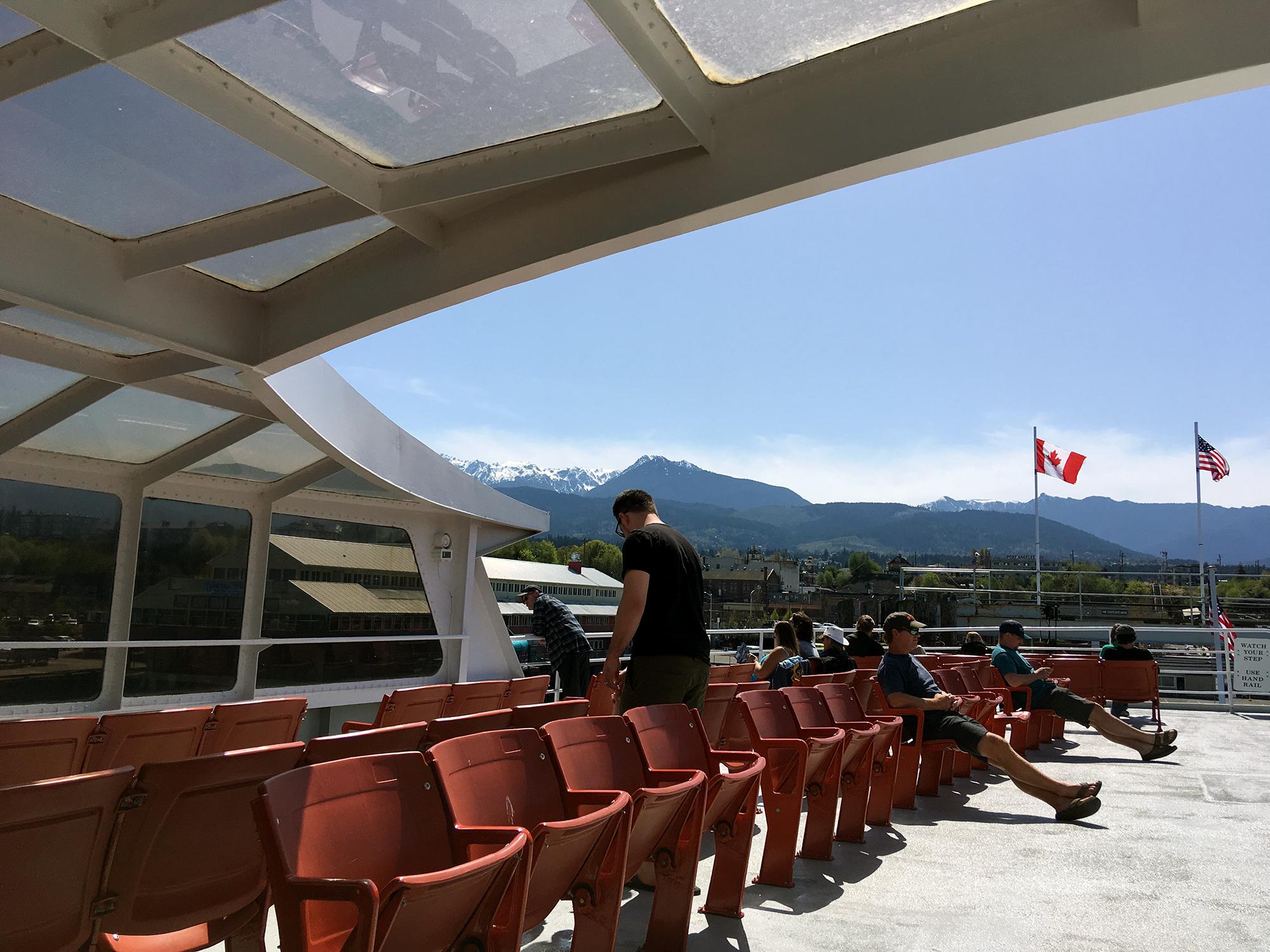 Generic Van Life - Vancouver Island Coho Ferry