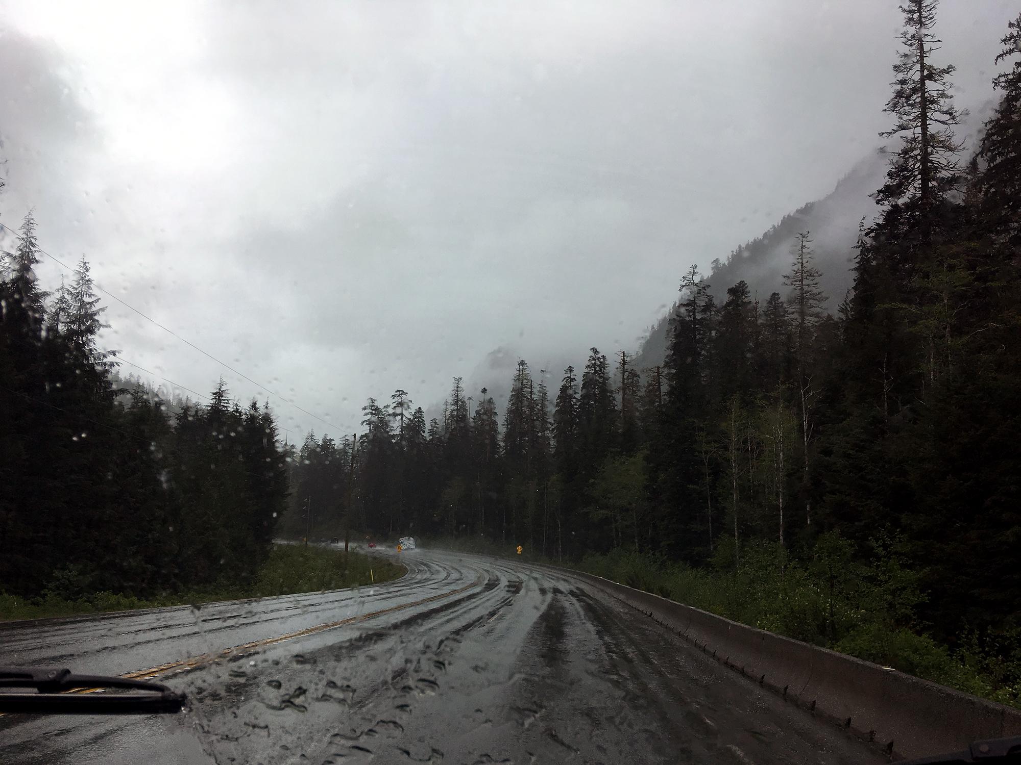 Generic Van Life - Vancouver Island Highway 4