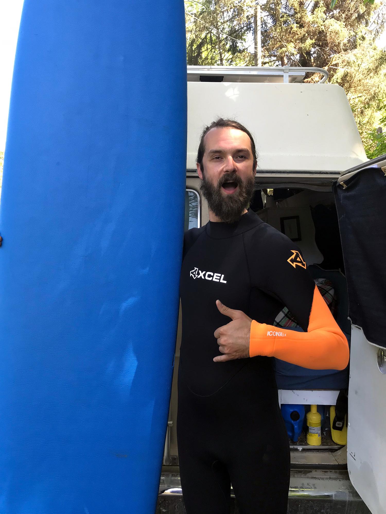 Generic Van Life - Vancouver Island Tofino Surfing