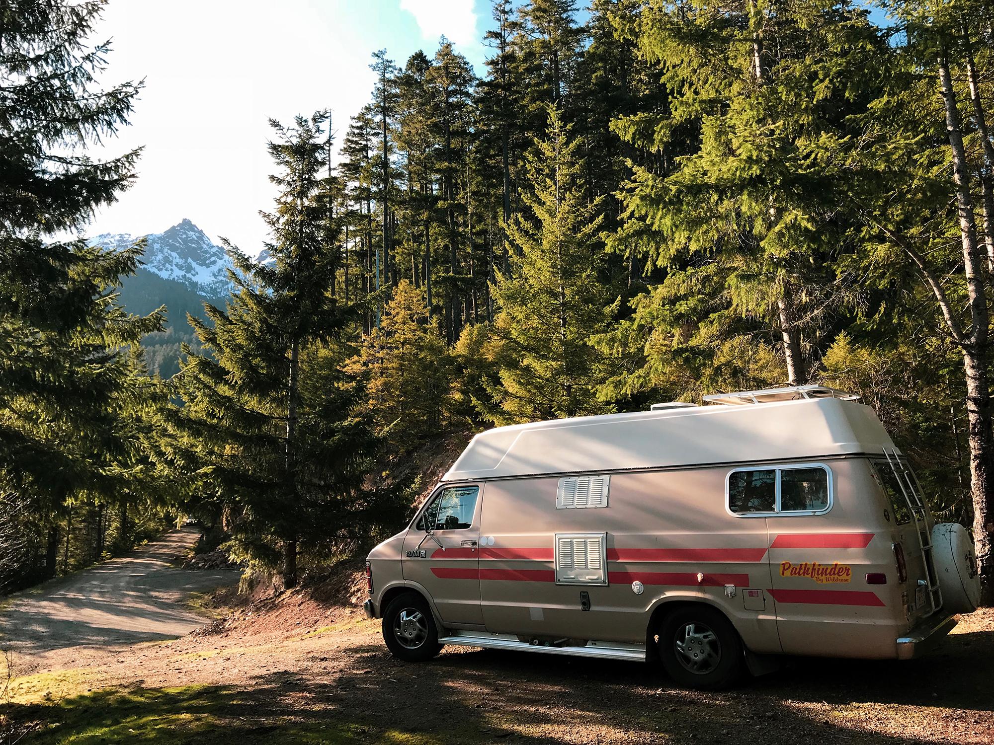 Generic Van Life - Washington Olympic National Forest