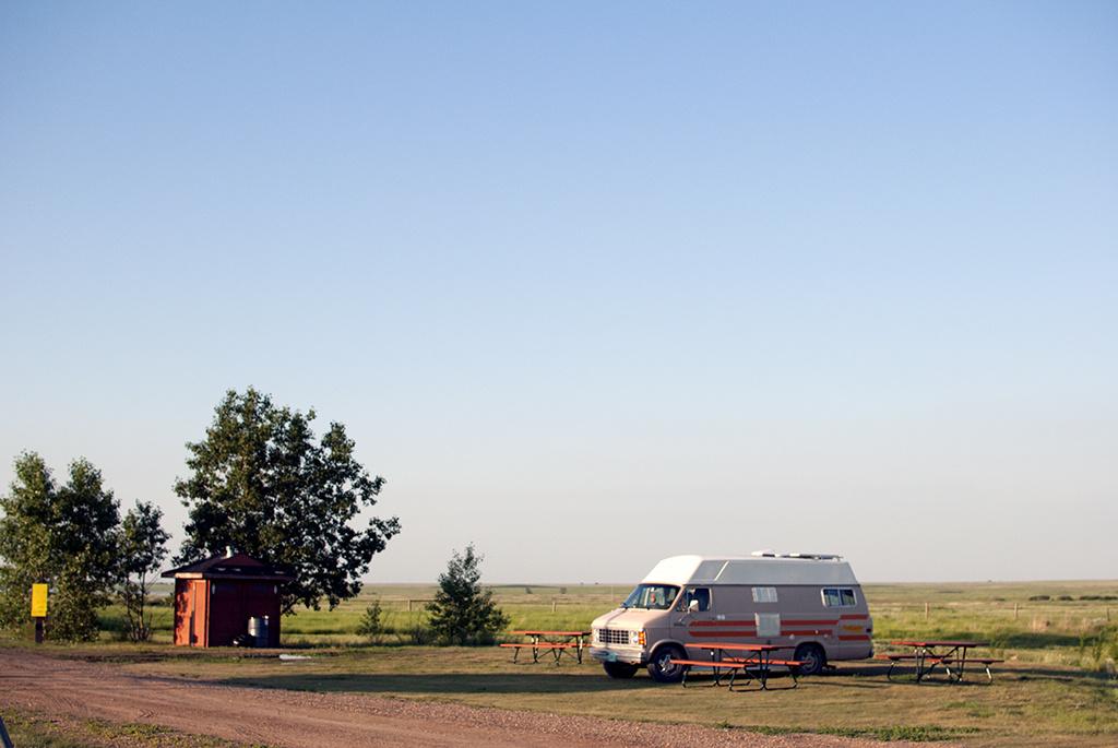 Generic-Van-Life-Camping-Spot-Carolside-Campground-Alberta-van