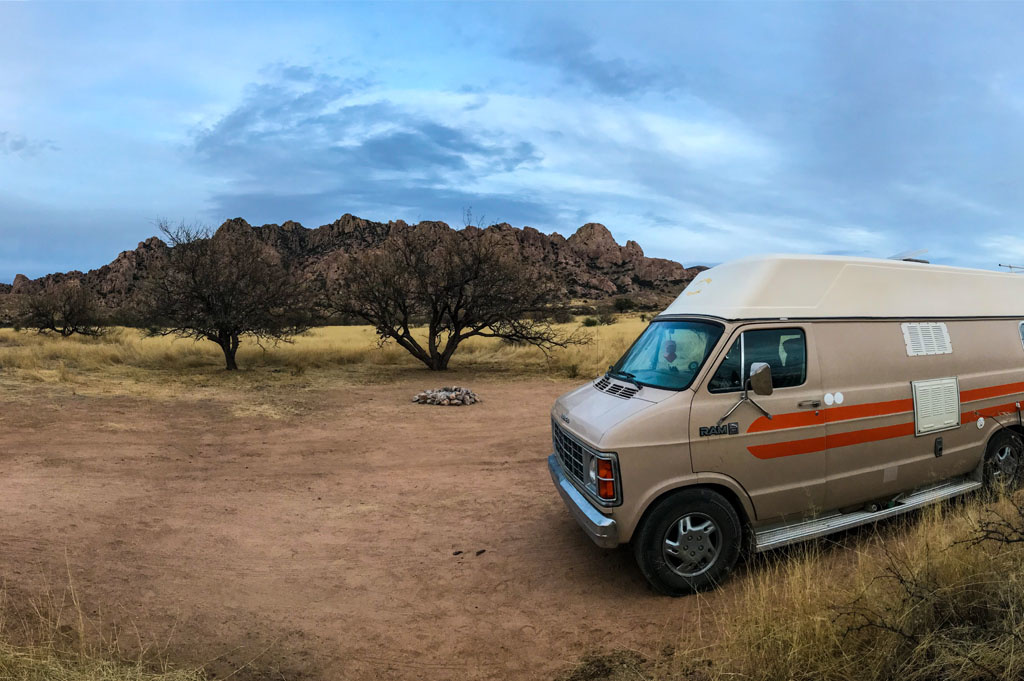 Generic-Van-Life-Camping-Spot-Dragoon-Mountains-Arizona-United-States-mountain-view