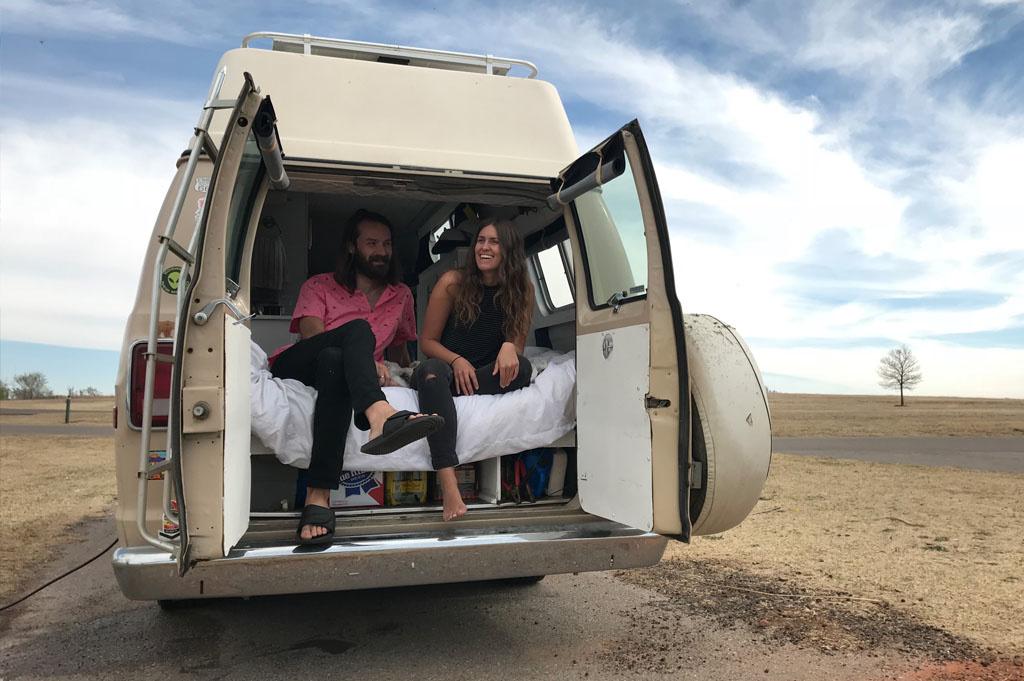 Generic-Van-Life-Camping-Spot-Elk City Oklahoma-United-States-justin and olivia