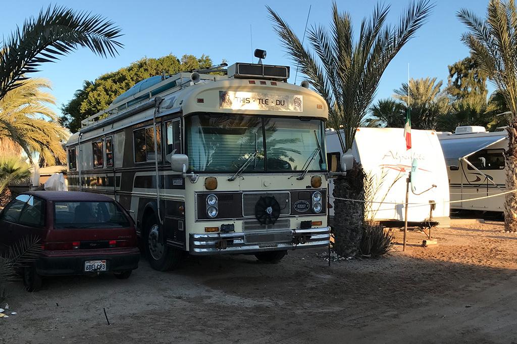 Generic Van Life – Camping Spot – Islandia Marina Bahia Kino Sonora Mexico – cool camper 2