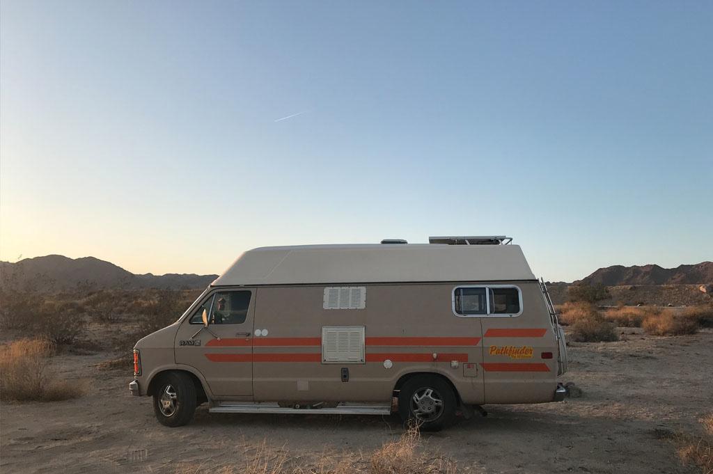 Generic-Van-Life-Camping-Spot-Joshua Tree South – California -United-States-camping spot view