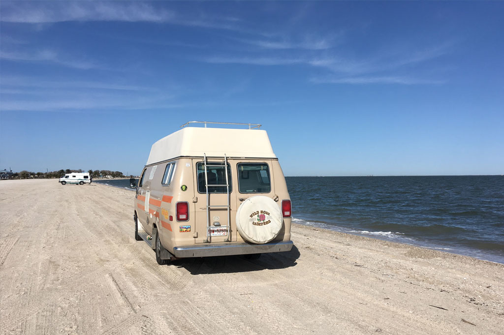 Generic-Van-Life-Camping-Spot-Magnolia Beach-United-States-camping spot