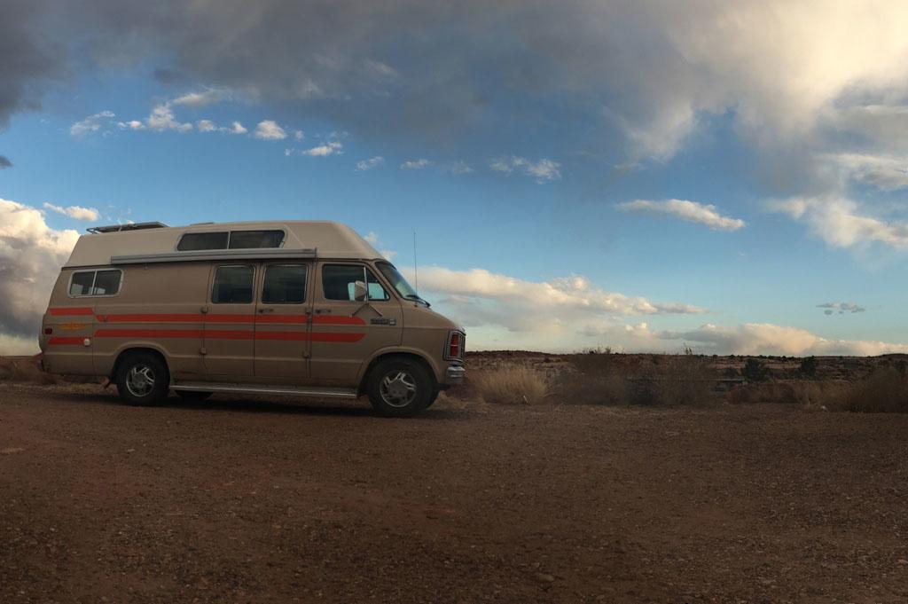 Generic-Van-Life-Camping-Spot- Mchood Park-Arizona – United-States-camping spot view