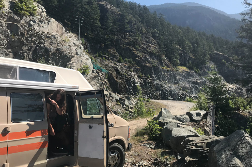 Generic Van Life – Vancouver Squamish Rock