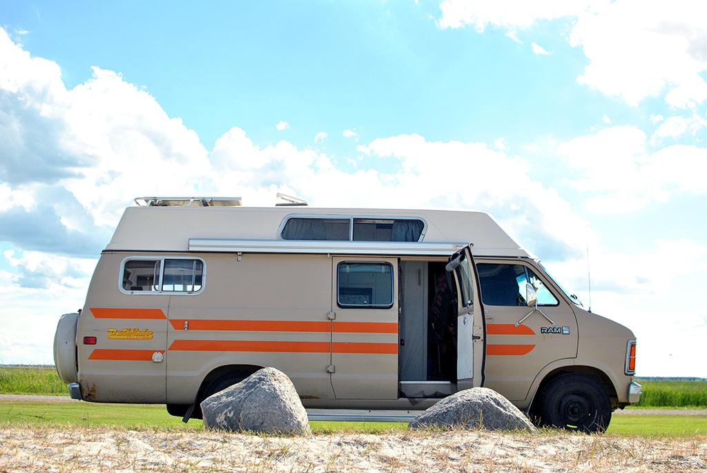 Generic-Van-Life-Camping-Spot-Hollywood-Beach-Manitoba-Van
