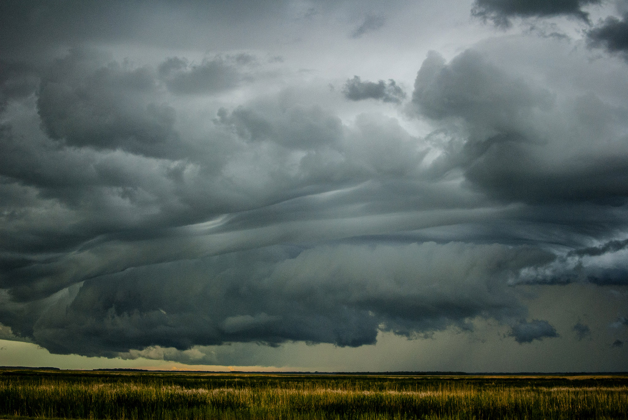 Generic Van Life - Friendly Manitoba Storm Clouds