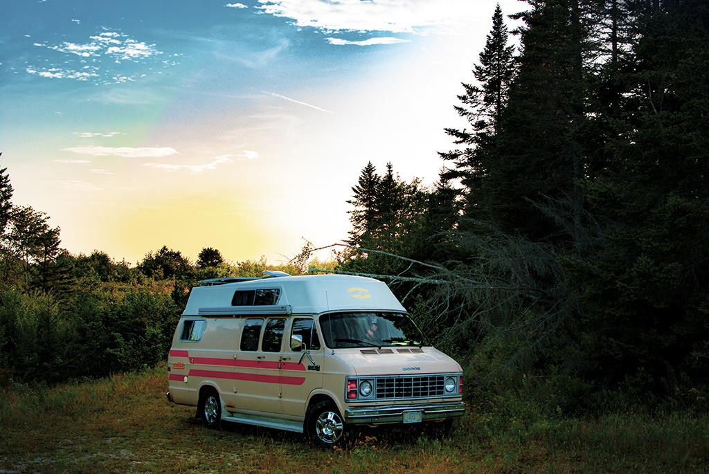 Generic-Van-Life-Fundy-Logging-Road-New-Brunswick-Van