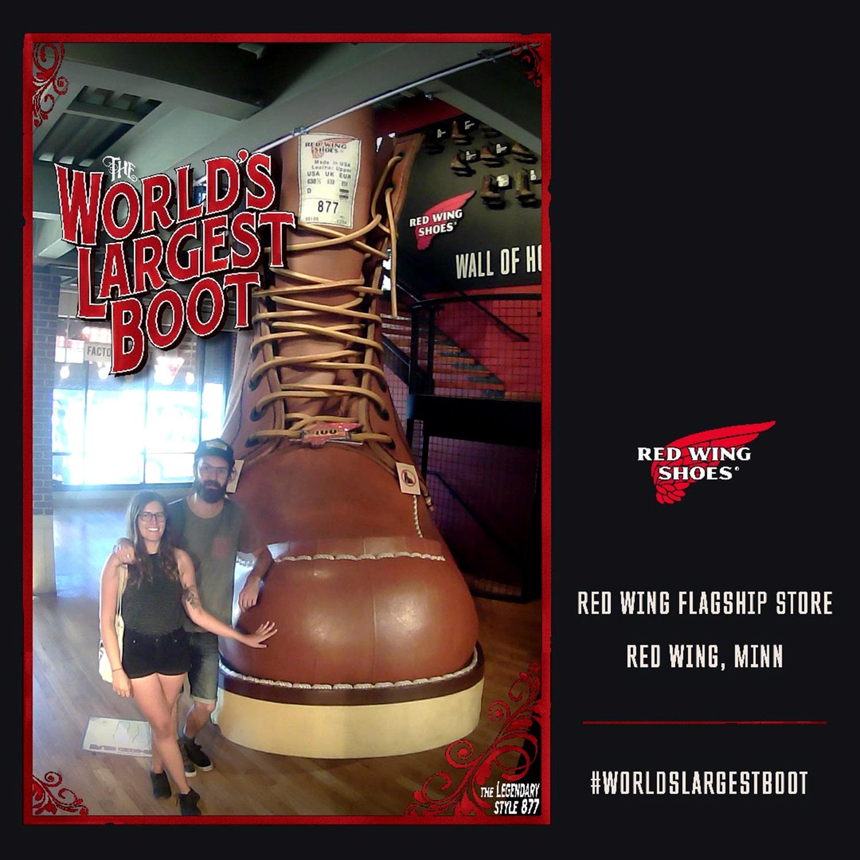 Generic Van Life - Minnesota Red Wing Giant Boot