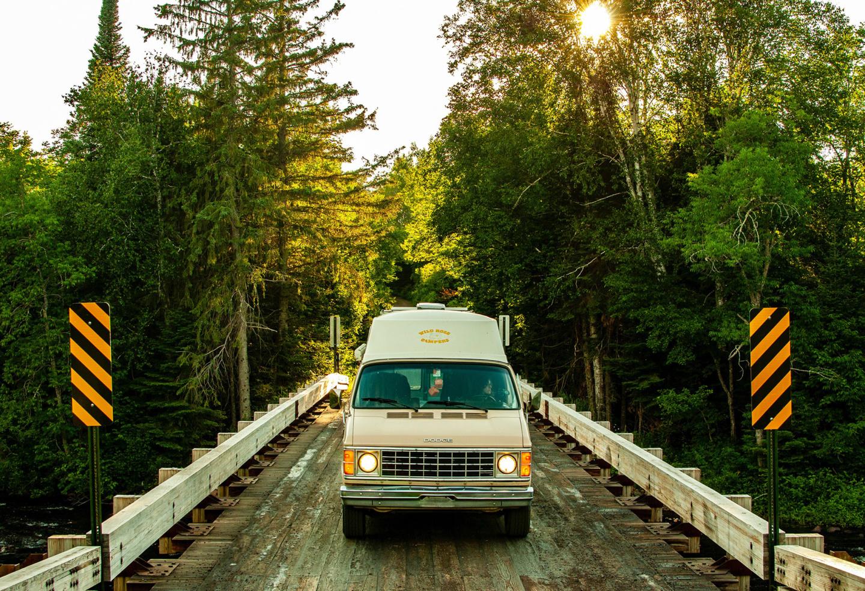 Generic Van Life - Minnesota Superior National Forest Bridge