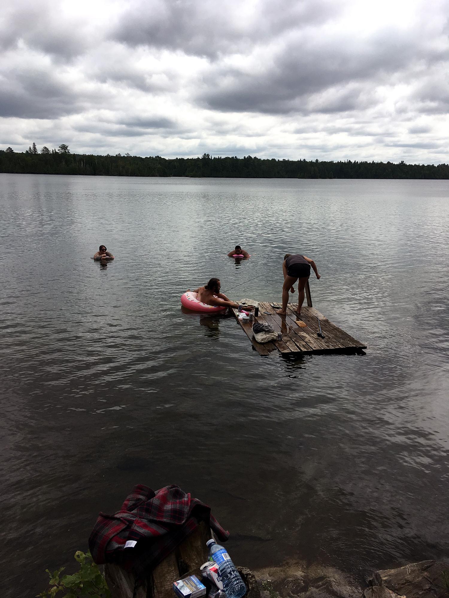 Generic Van Life - Southern Ontario Cashel Lake Fishing