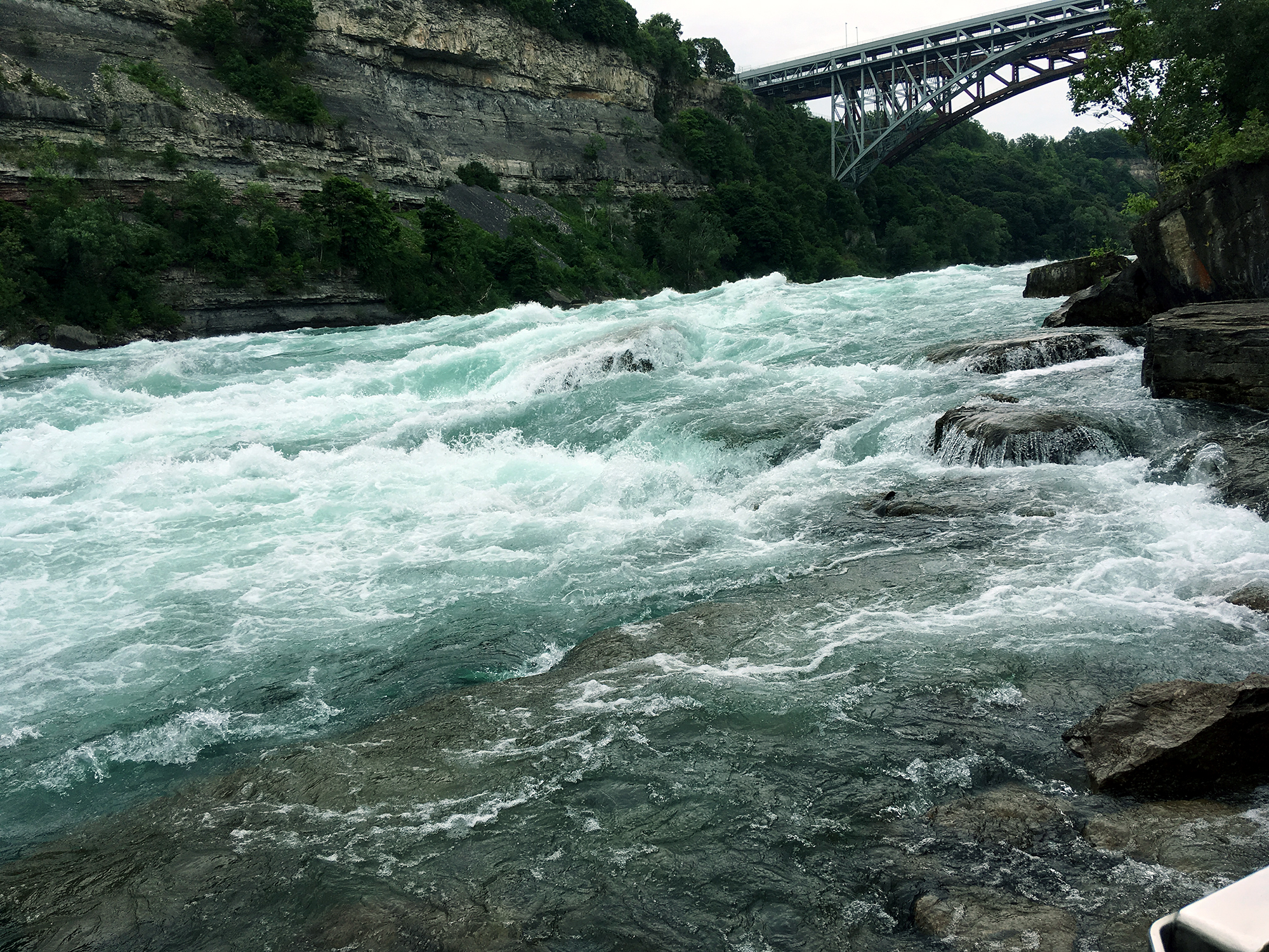 Generic Van Life - Southern Ontario Niagara Falls Rapids