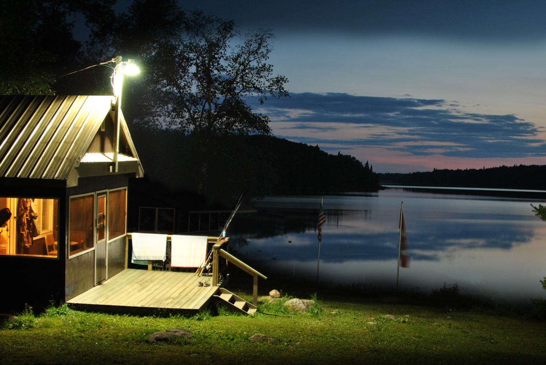 Generic Van Life - Northern Ontario Ghost River Lodge Night