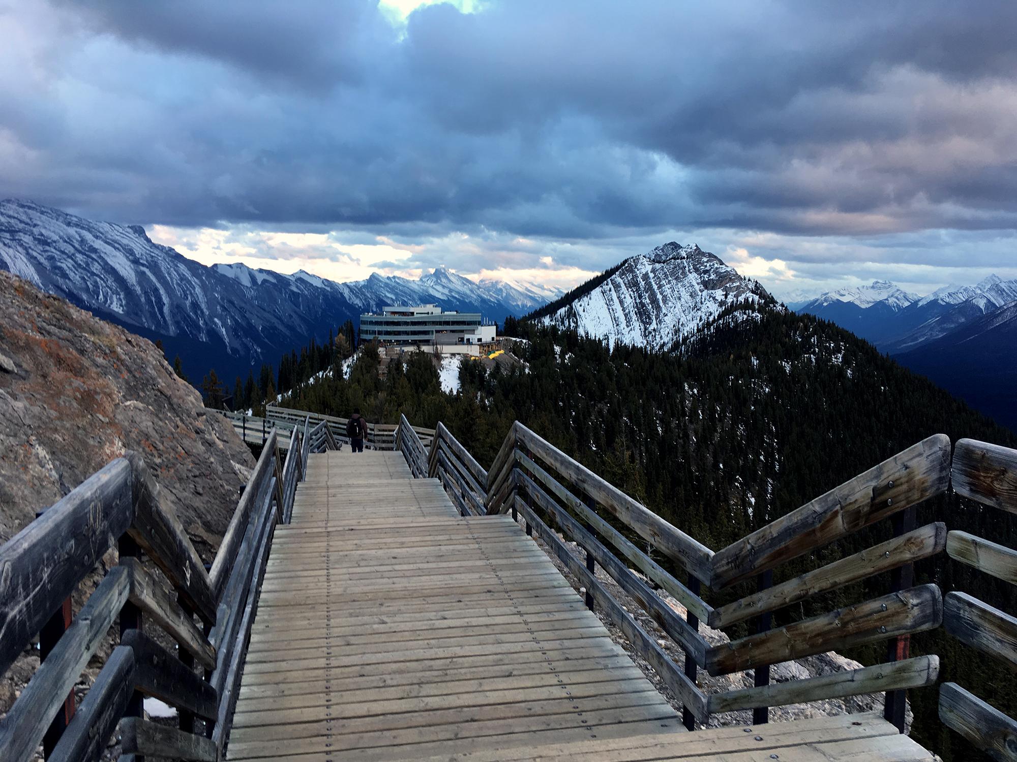 Generic Van Life - Banff Canmore Gondola Walkway