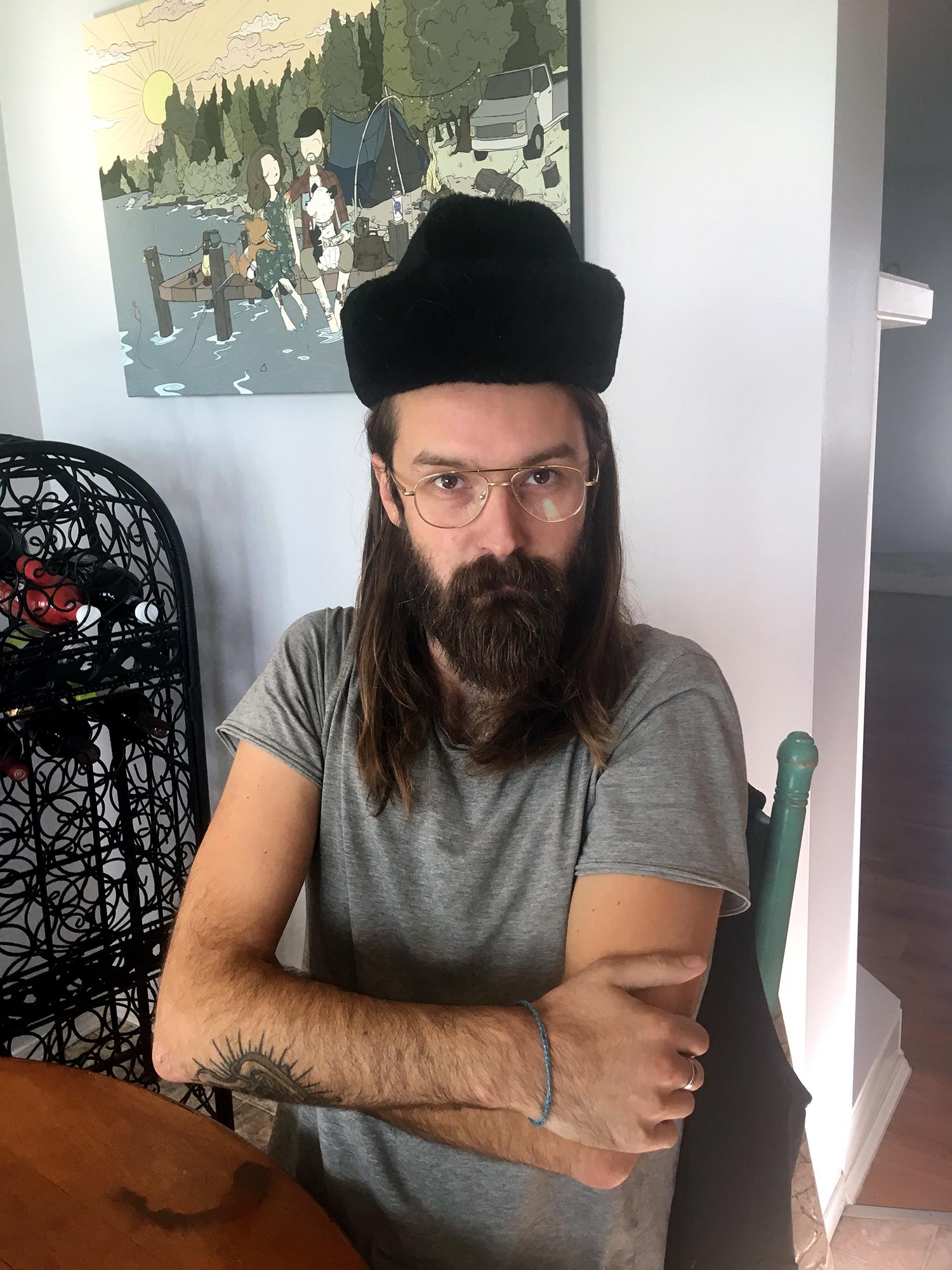 Generic Van Life - Banff Canmore Justin Russian Hat