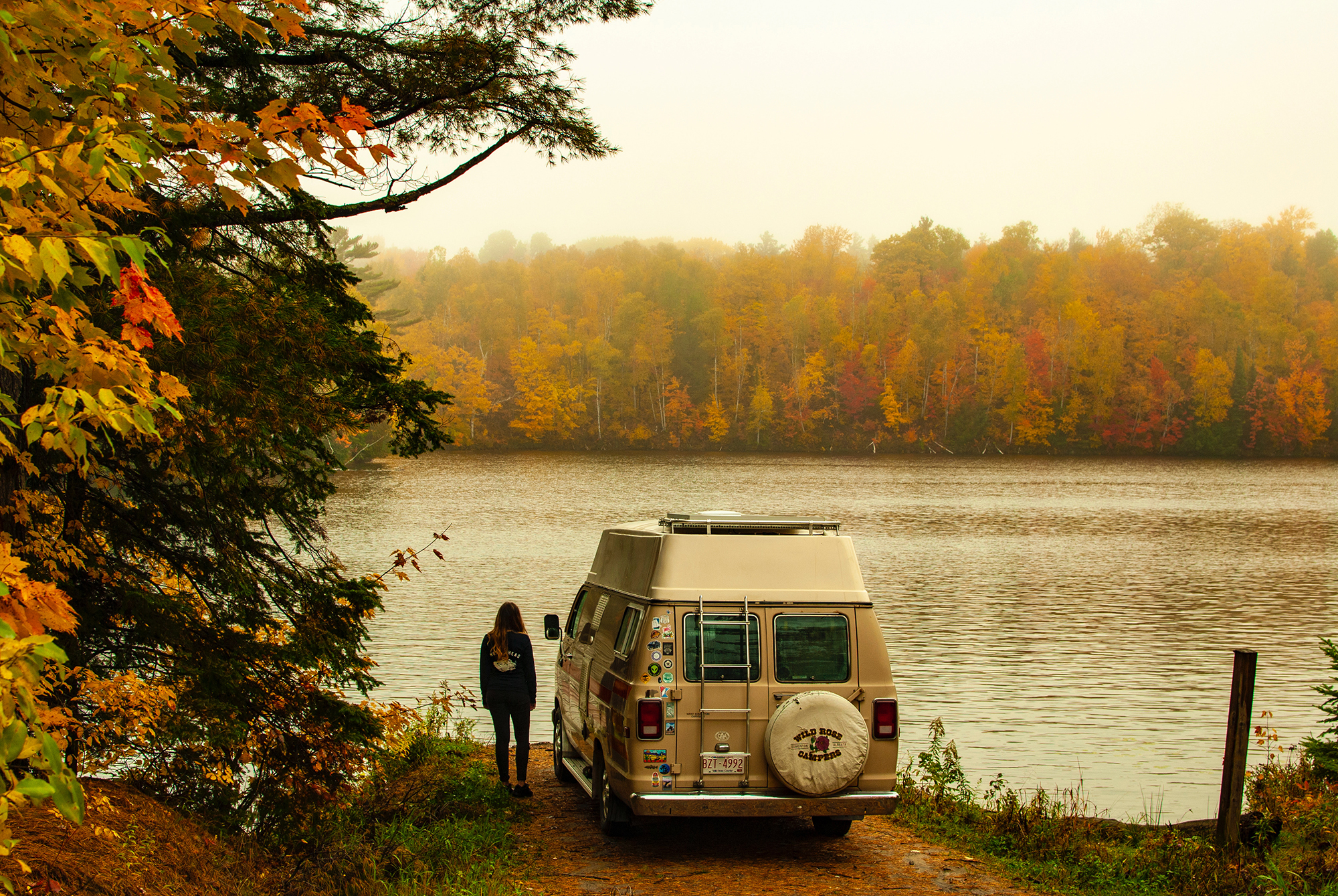 Generic Van Life - Northern Ontario Killarney Ess Narrows