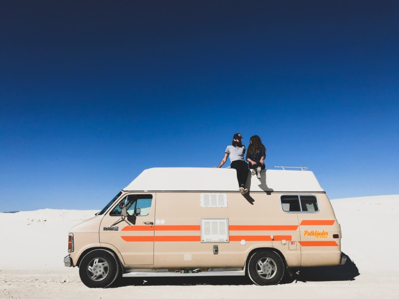 Generic Van Life - We're 1 - White Sands Year in Review