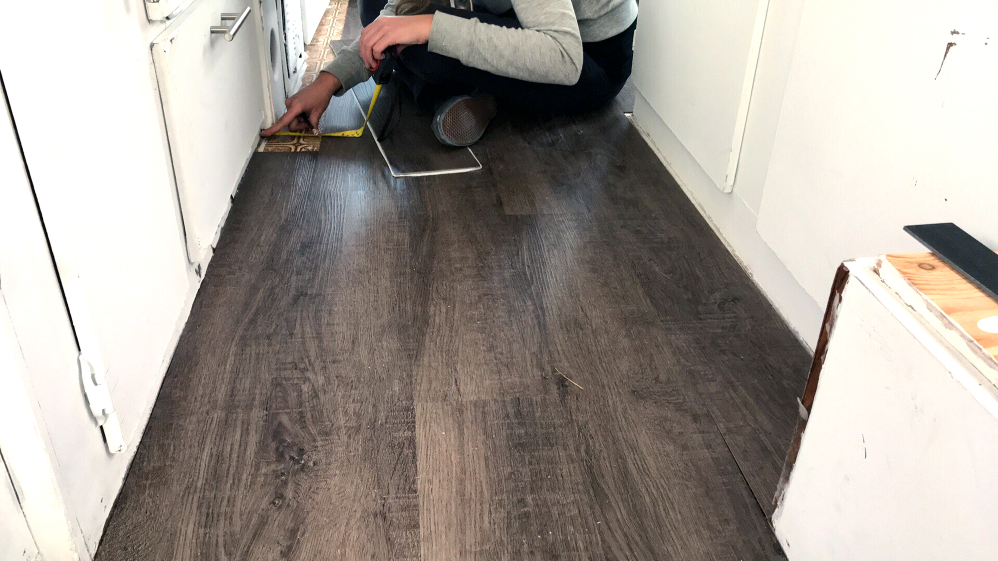 Generic Van Life - New Flooring