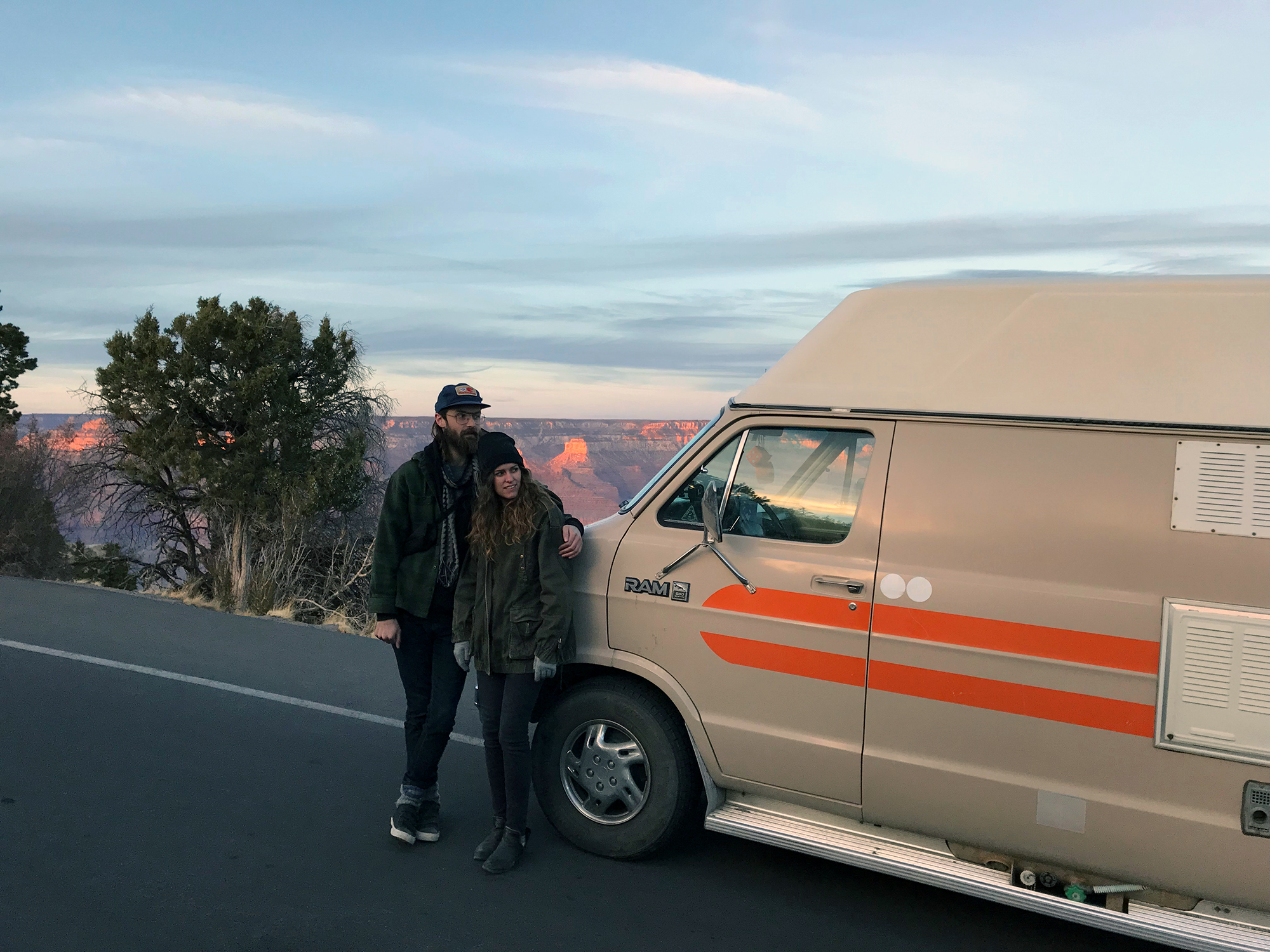 Generic Van Life - Grand Canyon Drive