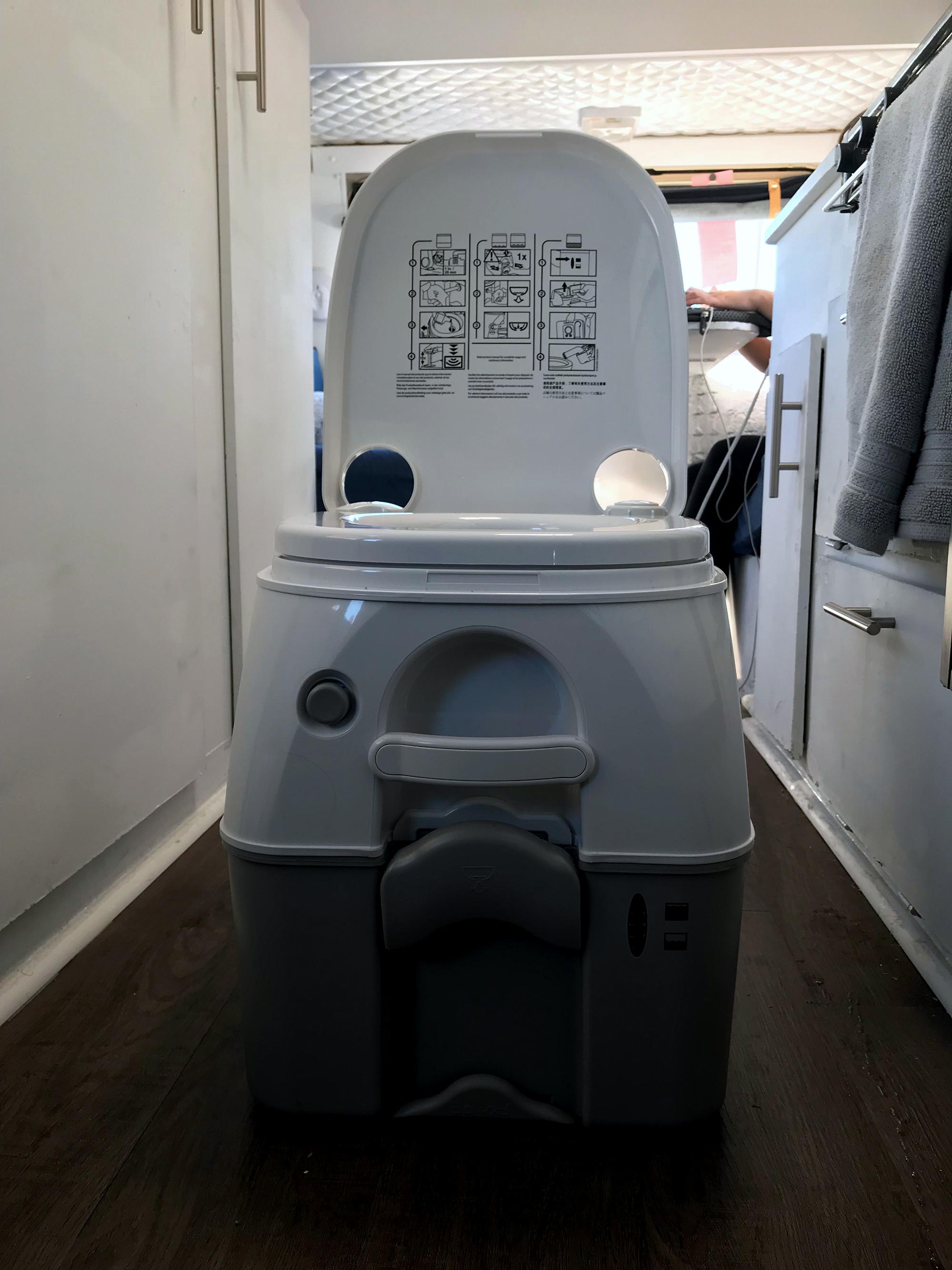 Generic Van Life - Toilet