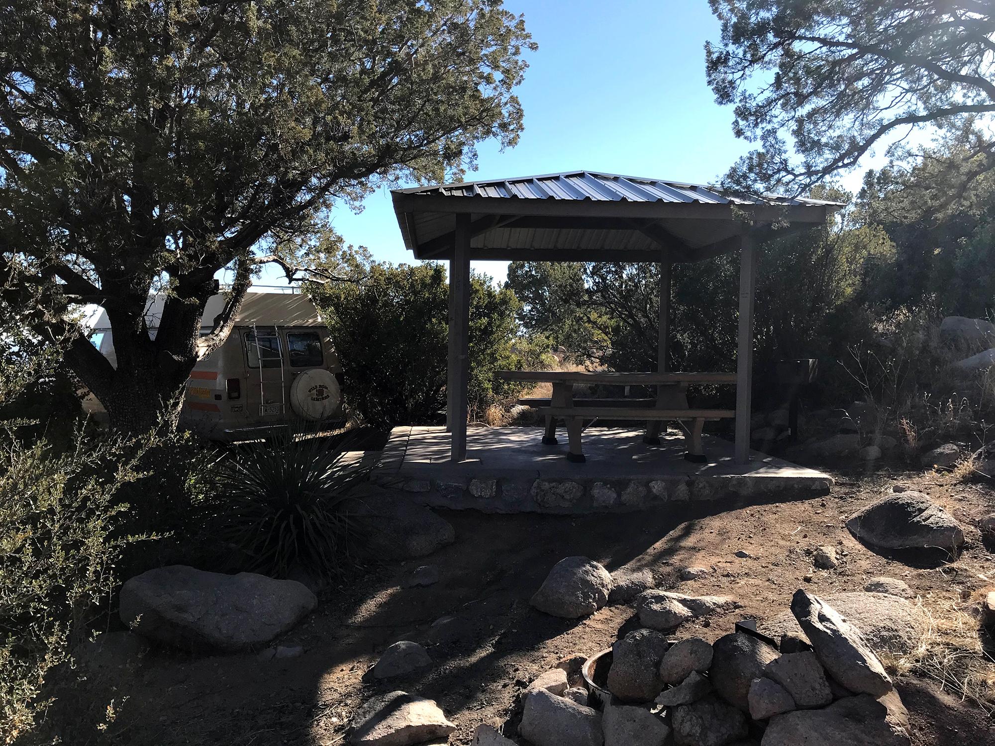 Generic Van Life - New Mexico Aguirre Springs