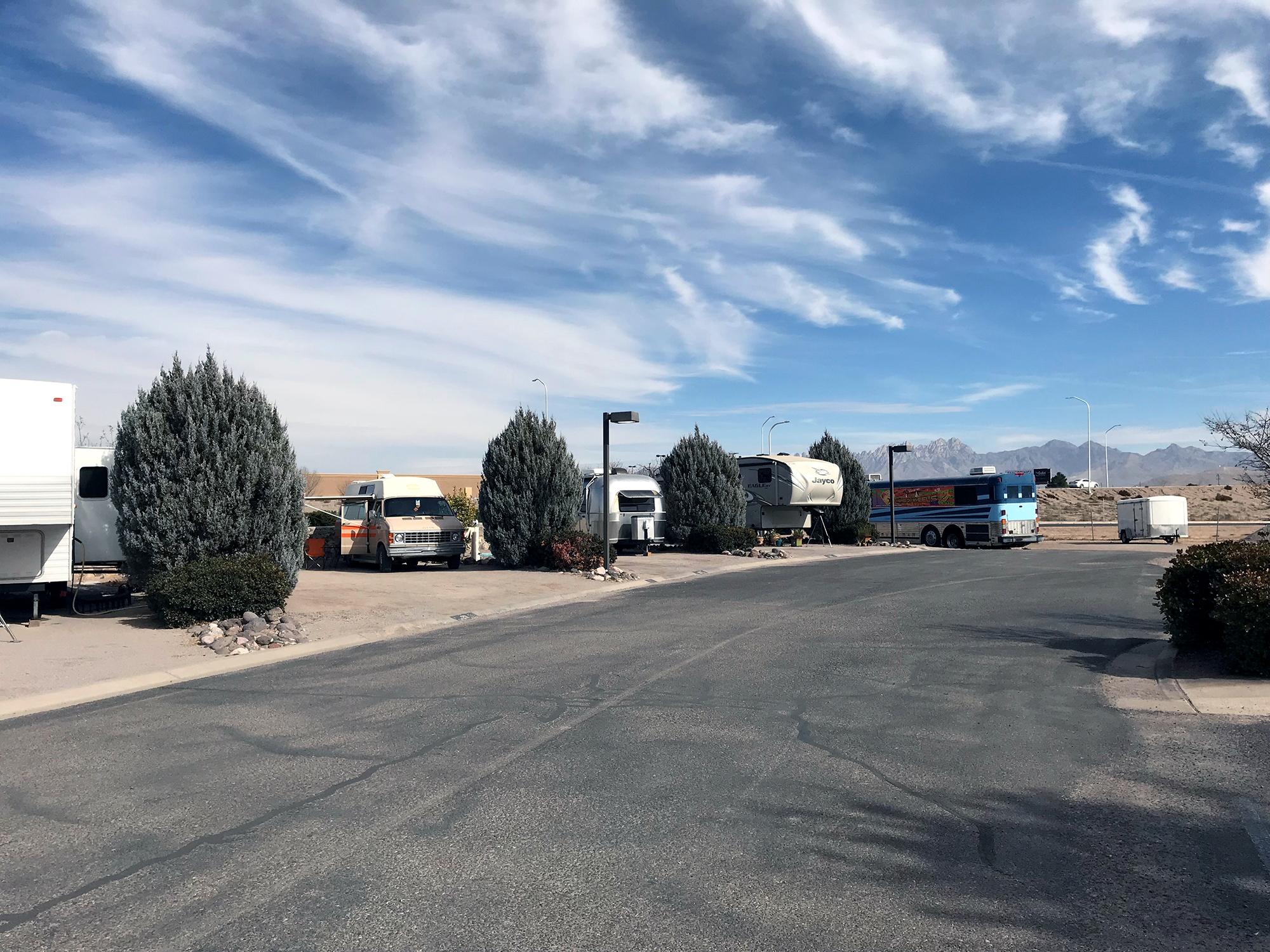 Generic Van Life - New Mexico Las Cruces RV