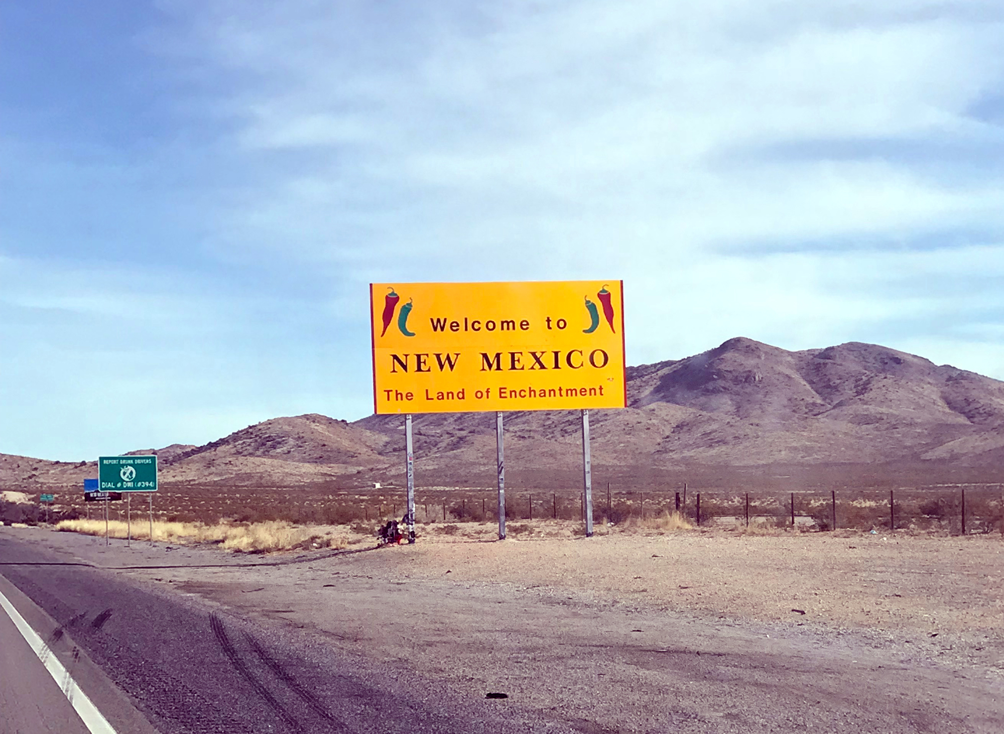 Generic Van Life - New Mexico Sign