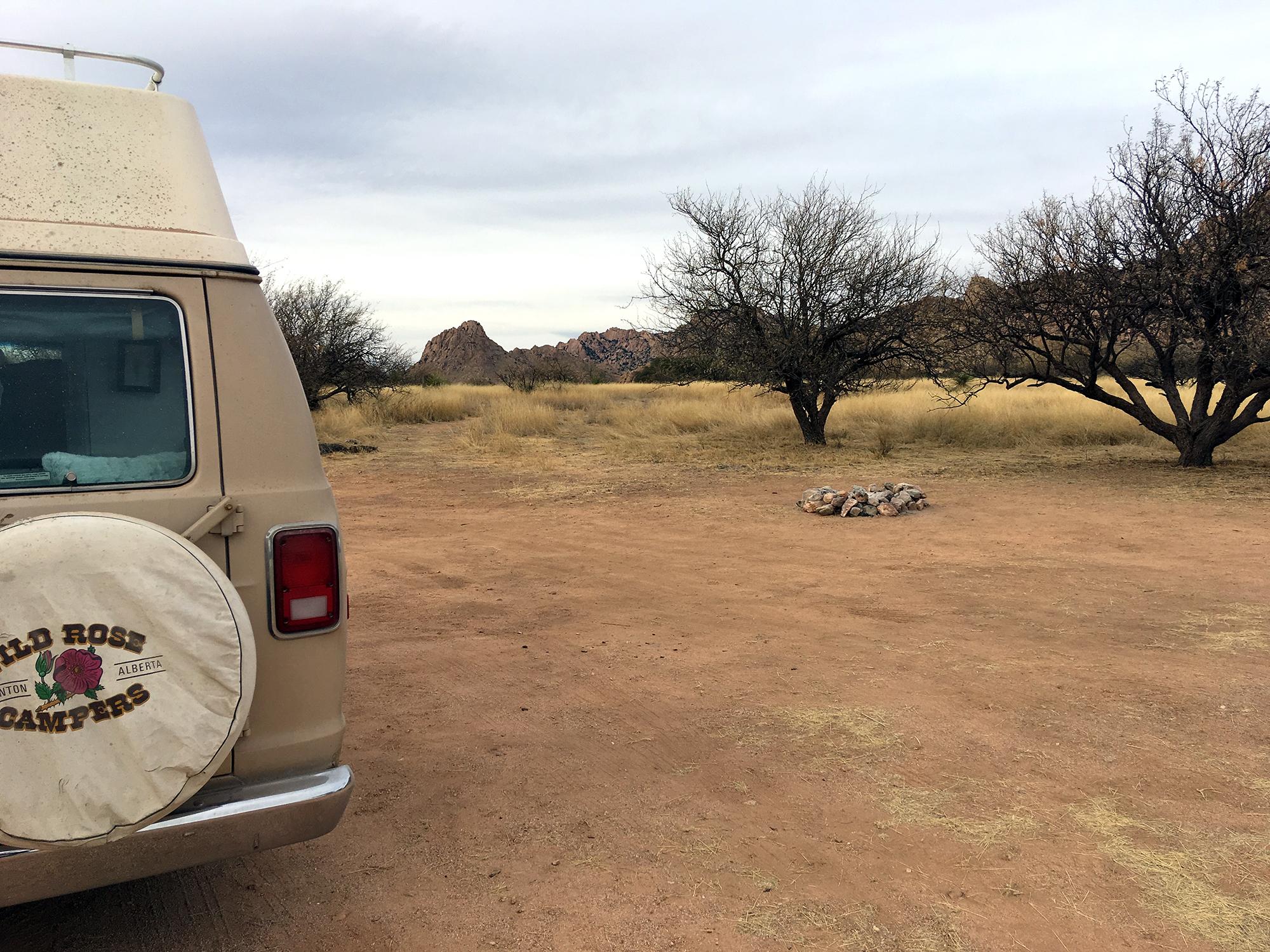 Generic Van Life - Tucson Dragoon Mountains