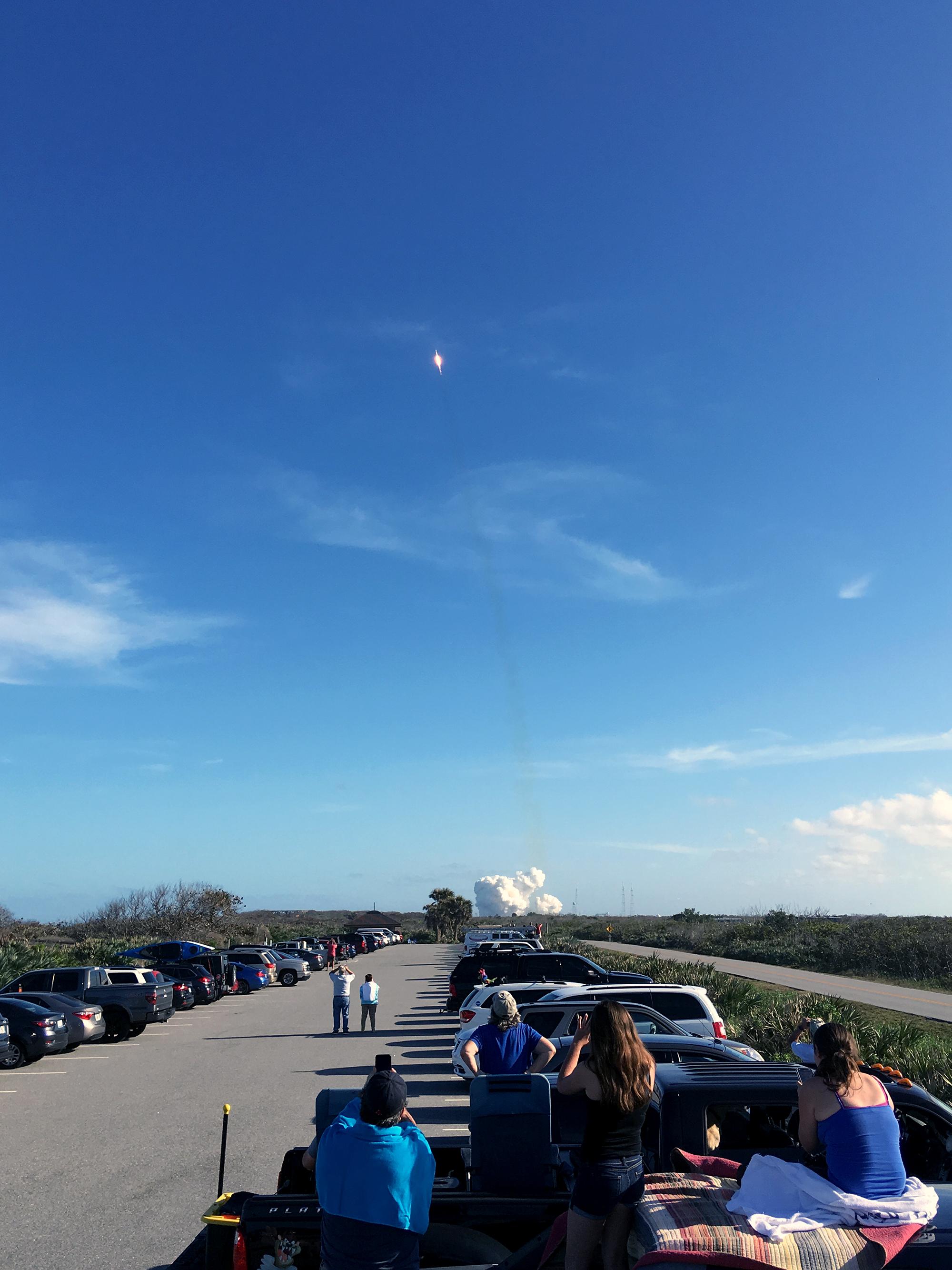 Generic Van Life - Navarre Falcon Heavy Launch II