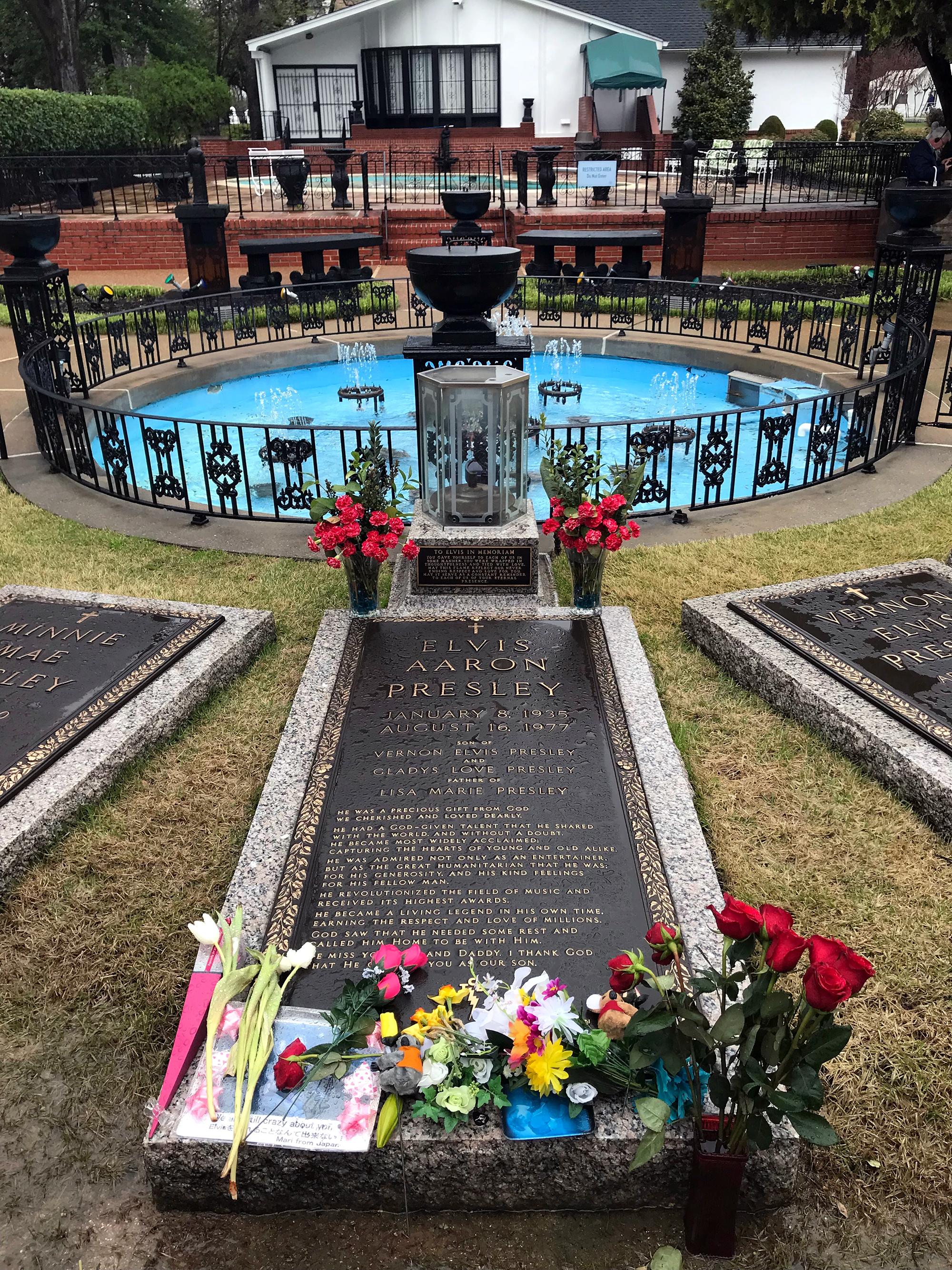 Generic Van Life - Tennessee Elvis Grave