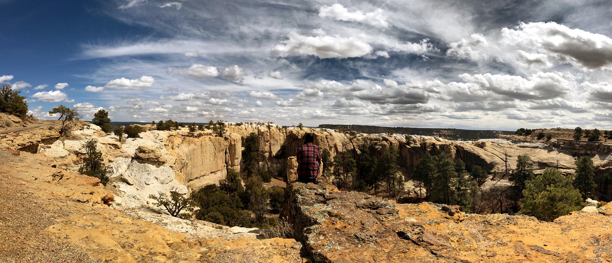 Generic Van Life - Albuquerque El Morro View
