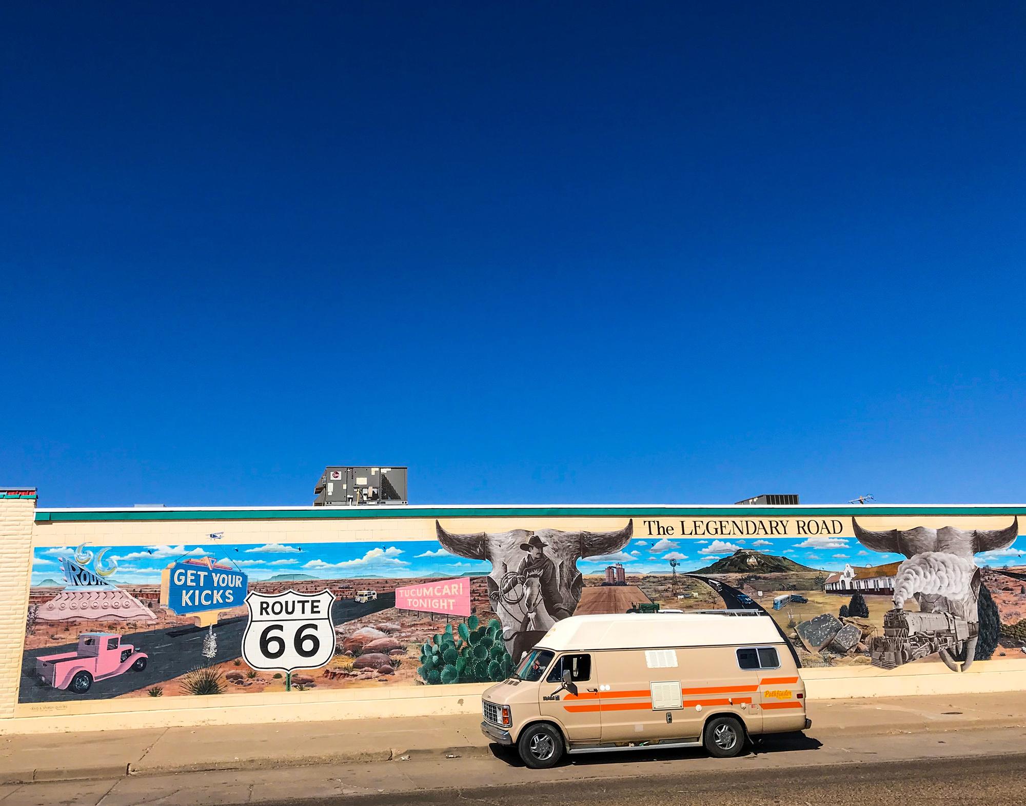Generic Van Life - Albuquerque Tucumcari